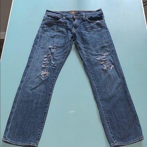 Lucky Brand Sienna Tomboy Crop Jeans 4/27